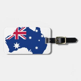 Australia flag Australia styles Design Travel Bag Tags
