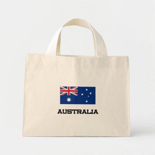Australia Flag Canvas Bags
