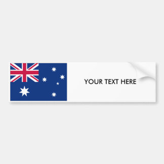 AUSTRALIA FLAG Bumper Sticker