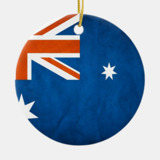 Australia Flag Christmas Ornament