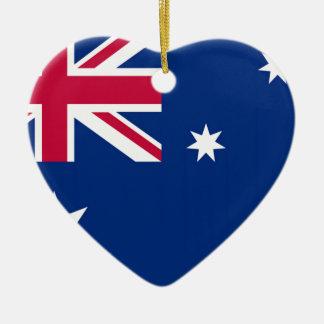 Australia Flag Christmas Ornament