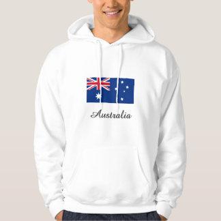 Australia Flag Design Hoodie