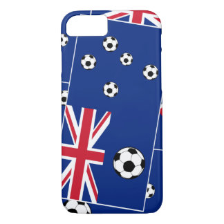 Australia Flag Football Soccer iPhone 7 Case