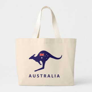 AUSTRALIA FLAG KANGAROO BAG