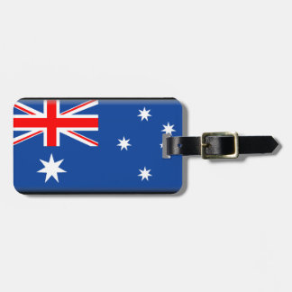 Australia Flag Luggage Tag