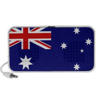 Australia flag notebook speakers
