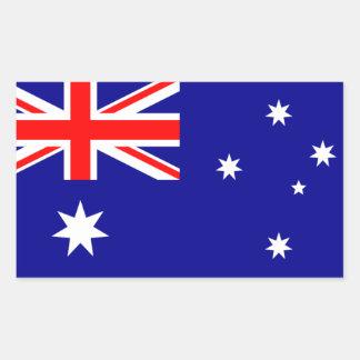 AUSTRALIA: Flag of Australia Rectangular Sticker