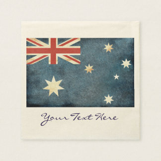 Australia Flag Party Napkins Paper Napkin