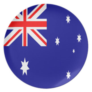 Australia Flag Plate