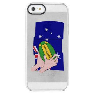 Australia Flag Rugby Ball Cartoon Hands iPhone 6 Plus Case