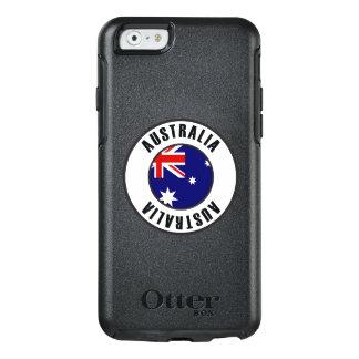 Australia Flag Simple Dark OtterBox iPhone 6/6s Case