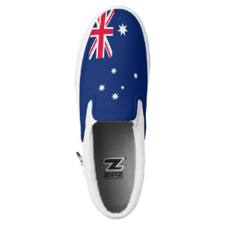 Australia Flag Slip On Shoes