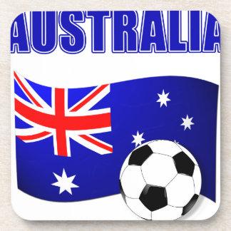 Australia Football 2442 Beverage Coasters