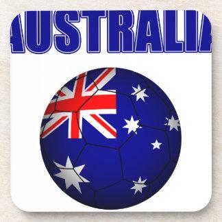 Australia Football 2841 Beverage Coaster