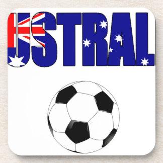 Australia Football 5044 Drink Coaster