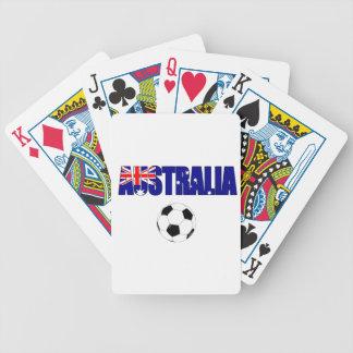 Australia Football 5044 Bicycle Card Decks