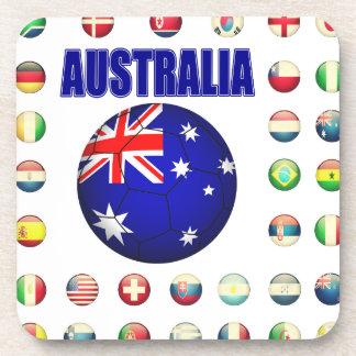 Australia Football 5416 Drink Coasters