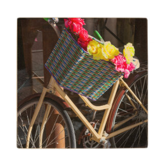 Australia, Freemantle, High Street, bicycle Wood Coaster