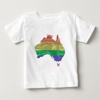 Australia Gay Pride Flag Baby T-Shirt