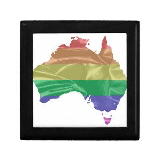 Australia Gay Pride Flag Gift Box