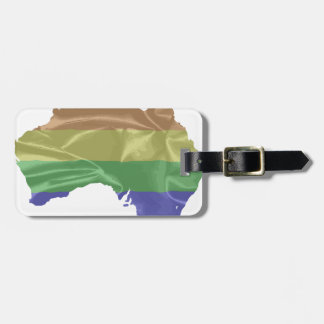 Australia Gay Pride Flag Luggage Tag