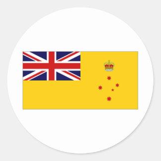 Australia Governor Victoria Flag Classic Round Sticker