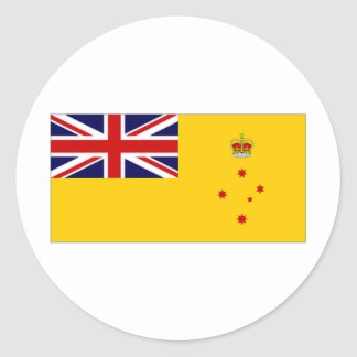 Australia Governor Victoria Flag Round Sticker