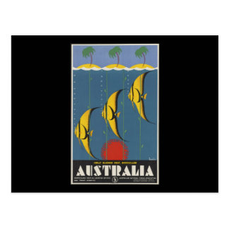 Australia Great Barrier Reef Queensland Postcard