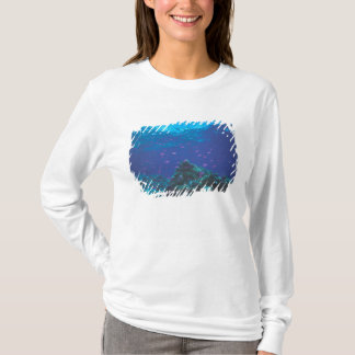 Australia, Great Barrier Reef. Swarming Purple T-Shirt