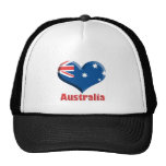 Australia Heart Hat