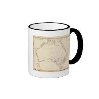 Australia in 1839 mug