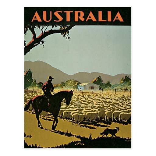 Australia In The Sun Vintage Travel Postcards