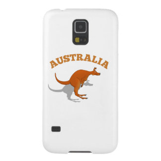 Australia, jumping Kangaroo Galaxy Nexus Cases