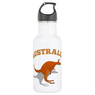 Australia, jumping Kangaroo 532 Ml Water Bottle