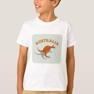 Australia, jumping Kangaroo T-Shirt