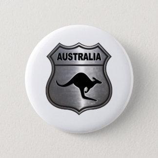 Australia Kangaroo 6 Cm Round Badge