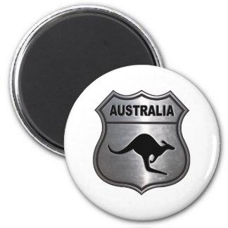 Australia Kangaroo 6 Cm Round Magnet