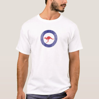 Australia Kangaroo Airplane Logo T-Shirt