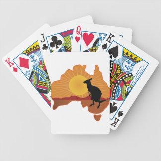Australia Kangaroo Deck Of Cards
