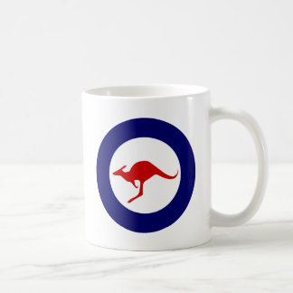 Australia kangaroo military aviation roundel coffee mug