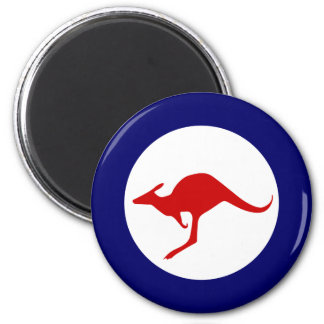 Australia kangaroo military aviation roundel magnet