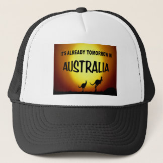 AUSTRALIA KANGAROOS.jpg Trucker Hat