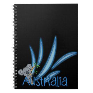 Australia Koala Notebooks
