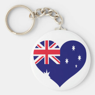Australia Love Key Ring