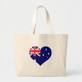 Australia Love Large Tote Bag