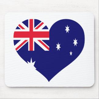 Australia Love Mouse Mat