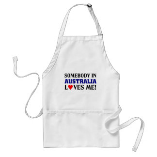 Australia Loves me Standard Apron