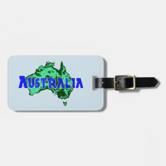 Australia Luggage Tag