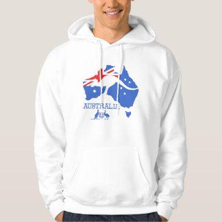 Australia Map Hoodie