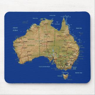 Australia Map Mousepad